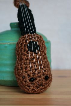 Baby uke for a friend's band by alicia954, via Flickr