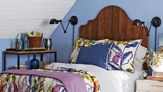 Create a custom headboard for your room in a weekend. Pick a wood, a finish, and a bed size to match your needs.