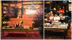 Friends fans, it's what you've all been waiting for—Central Perk brought to life