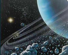 Summer on Uranus lasts one long day equivalent to 42 Earth years.   #space #uranus #planets
