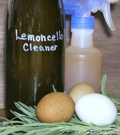 DIY Organic Lemoncello Enzyme Cleaner for Coops and Homes. $0