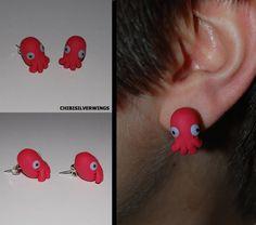 """WHY NOT ZOIDBERG Earrings"" by ChibiSilverWings (Chelsea) | #Futurama #Earrings"