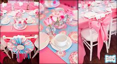 Lots of different tea party ideas