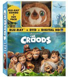Amazon.com: The Croods (Blu-ray / DVD + Digital Copy + Toy): Nicolas Cage, Emma Stone, Ryan Reynolds, Catherine Keener, Cloris Leachman: Movies & TV