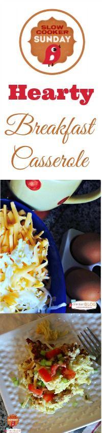 Slow Cooker Sunday - Breakfast Casserole | TodaysCreativeBlog.net