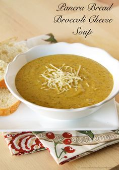 Panera Bread Broccoli Cheese Soup (copycat) - Whats Cooking With Ruthie