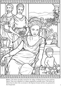 ancient greek art coloring pages - photo#31