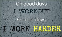 Work harder. #motivation #inspiration #workout #fitness #quotes