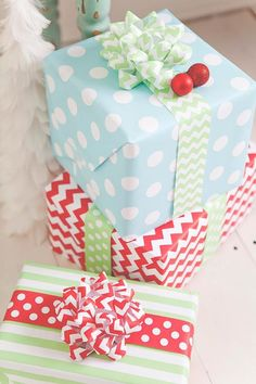 Cute Christmas Wrapping Ideas!