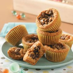 Cookie Cupcakes Recipe - I think these would be so good!