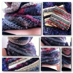 My newest #crochet cowl