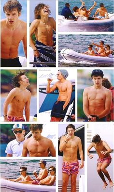 Shirtless 1D you're welcome