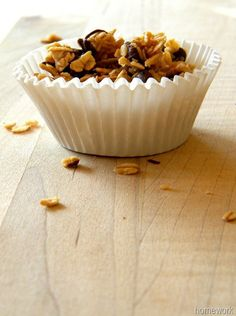 homework: Good Taste: pure vanilla review and homemade granola