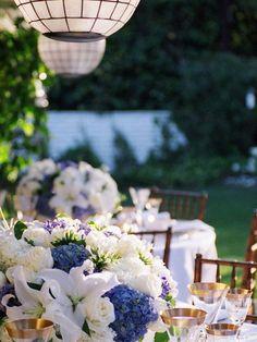 DIY Wedding Table Decoration Ideas - Entertaining Al Fresco - Click Pic for 46 Easy DIY Wedding Decorations