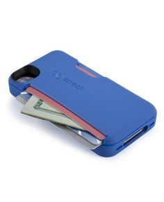 speck | SmartFlex Card for iPhone 4S/4-- carries your ID and money, brilliant. - Just got this for christmas and it's a bit bulkier than my last case, but it carries my ID, cards and cash and I absolutely love it for going out or going to the gym.