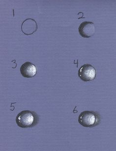 How to draw water drops from Meg Newberg