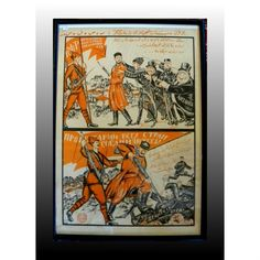 Russian Propaganda Poster. #antique #vintage #appraisal