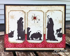 Playing with Paper: CTMH Scrapbooks, Cards & DIY: My Favorite {CTMH} Things Blog Hop: Nativity Christmas Cards