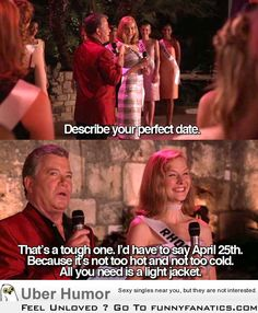 Describe your perfect date