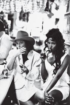Naomi and Christy.