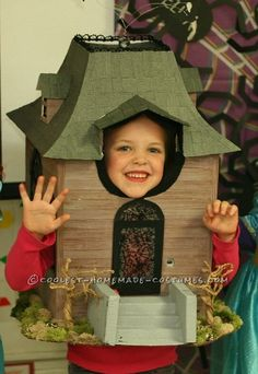Cool Homemade Costume for Kids: Haunted House... Coolest Halloween Costume Contest