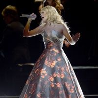 Carrie Underwood performsduring the 55th Annual GRAMMY Awards