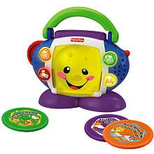 For my granddaughter.   Fisher-Price Laugh & Learn CD Player