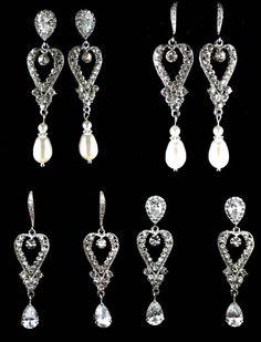 Wedding Dress Brooch, Swarovski Pearl Crystals, Bridal Jewelry, Flower, ROMANTIC