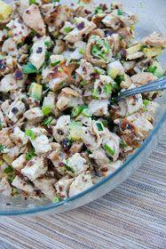 A Kitchen Cafe: Grilled Chicken, Bacon & Avocado Salad #Primal #Paleo #GlutenFree #GF