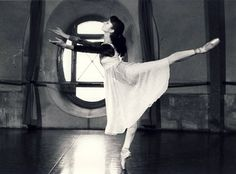 Isabelle Guerin rehearsing for 'Romeo and Juliet'