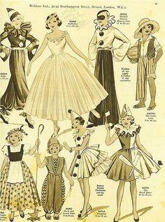 Vintage costumes