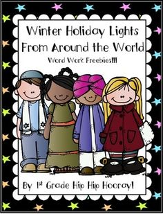 Winter Holiday Lights From Around the World freebie!