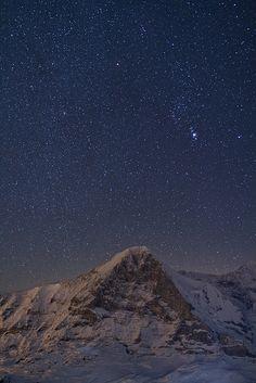 night stars in winter