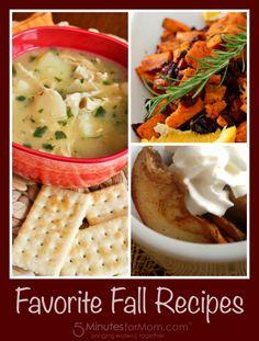Favorite Fall Recipes #fall #recipes #soup
