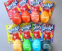 Easter eggs_Kool-Aid eggs!