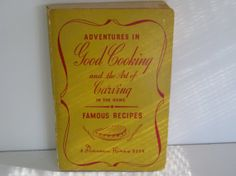 DUNCAN HINES COOKBOOK / Author Duncan Hines/1940s by MerryMarys