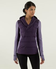 We designed this slim-fitting vest to be the perfect layer on our cold weather runs. Insulated with premium goose down, it helps keep us warm without the extra puff | Fluff Off Vest