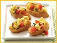 Breakfast Bruschetta Recipe | Knockout Brunch | Hungry Girl TV Show