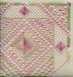 Two-Handed Stitcher needlepoint stitch, punto noruego, twohand stitcher, canva work
