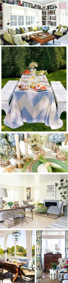 Chic Combinations: Leaf Green and Sky Blue   Arianna Belle for La Dolce Vita