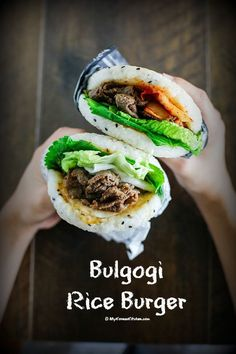 Bulgogi Rice Burger