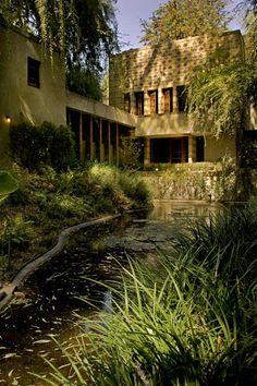 Frank Lloyd Wright's Millard house.