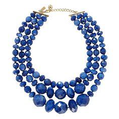 swirl statement necklace