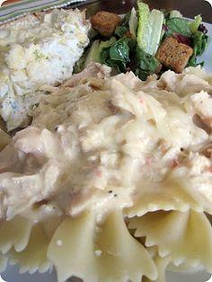 Slow Cooker Italian Chicken #Recipe #Dinner #Maindish