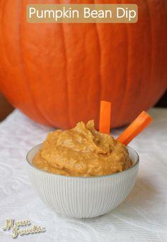 pumpkin bean dip