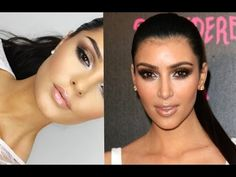▶ Kim Kardashian Inspired Makeup Tutorial New - YouTube