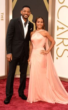 Will Smith & Jada Pinkett Smith from 2014 Oscars Red Carpet Arrivals | E! Online