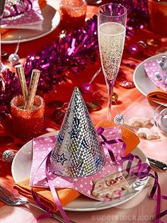 Party Decor Idea's For Your New Years Eve Party