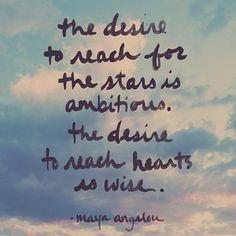 Maya Angelou @Penny Douglas People |