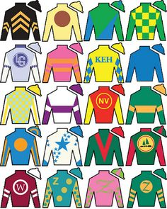 KENTUCKY DERBY JOCKEY SILKS by the obsessive imagist, via Flickr